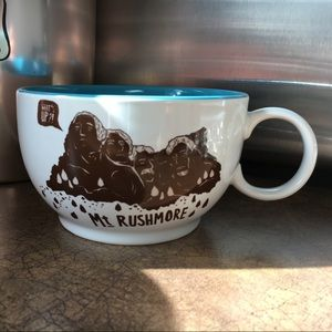 Mt Rushmore Mug EUC Target The Curiosity Shoppe